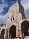 Roman Arena på Arles, Provence Royaltyfri Bild