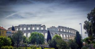Roman Arena in Pula,Croatia Royalty Free Stock Image