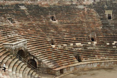 Roman arena seating Stock Image