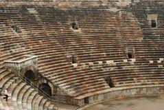Roman arena seating Stock Image