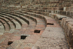 Roman arena seating Royalty Free Stock Photo