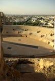Roman Arena van Gr Jem (colosseum) in Tunesië Royalty-vrije Stock Afbeelding