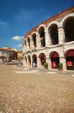 Roman Arena of Verona. The roman Arena (Amphitheatre) of Verona in Northern Italy Royalty Free Stock Photos