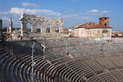 Roman Arena at Verona Royalty Free Stock Photos