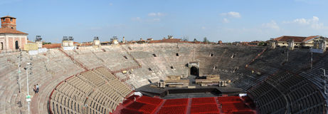 Roman Arena at Verona Royalty Free Stock Photo