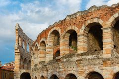 Roman Arena in Verona, Italy Royalty Free Stock Photography
