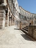 Arena in Pula stock image