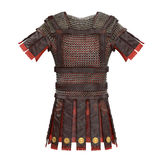 Roman armor 3d illustration Stock Photo