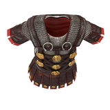 Roman armor 3d illustration Royalty Free Stock Images
