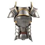 Roman armor 3d illustration isolated on white background Stock Photo