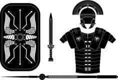 Roman armor Stock Photo