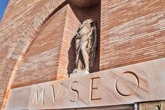 Roman Art National Museum in Merida Stock Photography