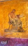 Roman arts-V-Pompeii-Italy Stock Image