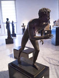Roman athelete from Pompeii in Naples Italy Stock Photo
