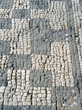 Roman background. Ancient flooring, over 2,000 years old royalty free stock images
