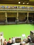 Roman bad in Londen, Engeland Stock Afbeelding