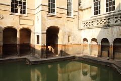 Roman baden Royalty-vrije Stock Fotografie