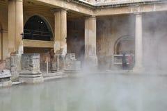 Roman baden in Bad, Engeland Stock Foto's