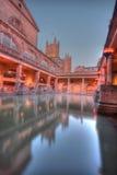 Roman baden in HDR Stock Foto's