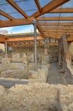 Roman baden in Spanje, Caldes DE Malavella Stock Foto's