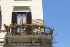 Roman Balcony stockbilder