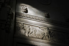 Roman bas-relief Stock Photo