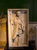 Roman Bas Relief Carving en museo en Berlin Germany Imagen de archivo libre de regalías