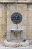 Roman bas-relief. In Tarragona, Spain Royalty Free Stock Photos