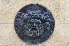 Roman bas-relief stock image