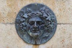 Roman bas-relief stock photo