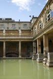 Roman Bath. The Roman Bath in England Stock Image