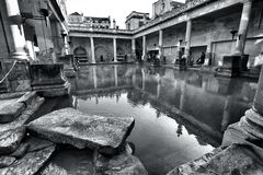Roman Bath Stockbild