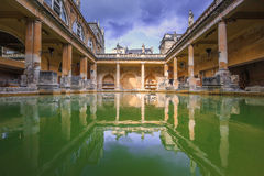 Roman Bath, Angleterre Photographie stock
