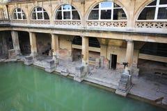 Roman Bath, ciudad BRITÁNICA del baño es un sitio del patrimonio mundial de la UNESCO Septiembre Fotos de archivo libres de regalías