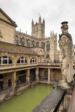 Roman Bath in England Royalty Free Stock Image