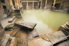 Roman Bath in England Stock Photography