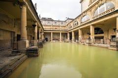 Roman Bath in England Royalty Free Stock Photo