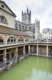 Roman Bath in England Stock Photos