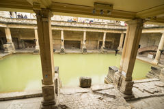 Roman Bath in England Royalty Free Stock Photography