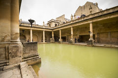 Roman Bath in England Royalty Free Stock Photos