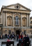 Roman Bath Entrance fotografia stock