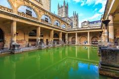 Roman Bath, Inglaterra Imagen de archivo libre de regalías