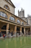 Roman Bath Museum in West England Royalty Free Stock Image
