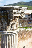Roman Bath ruins Stock Photography