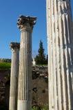 Roman Bath ruins Stock Image