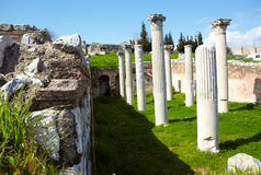Roman Bath ruins Royalty Free Stock Photo