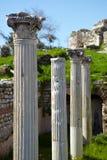 Roman Bath ruins Stock Photo