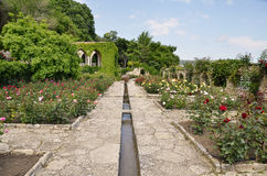 Roman bath   in the yard of Balchik palace , Bulgaria Stock Photos