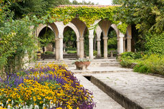 Roman bath in the yard of Balchik palace, Bulgaria Royalty Free Stock Photos
