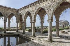 Roman bath in the yard. Stock Image